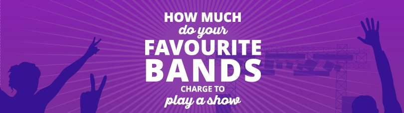 How Much Do Your Favourite Bands Charge To Play A Show?